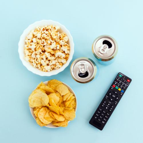 Popcorn een gezond alternatief voor chips
