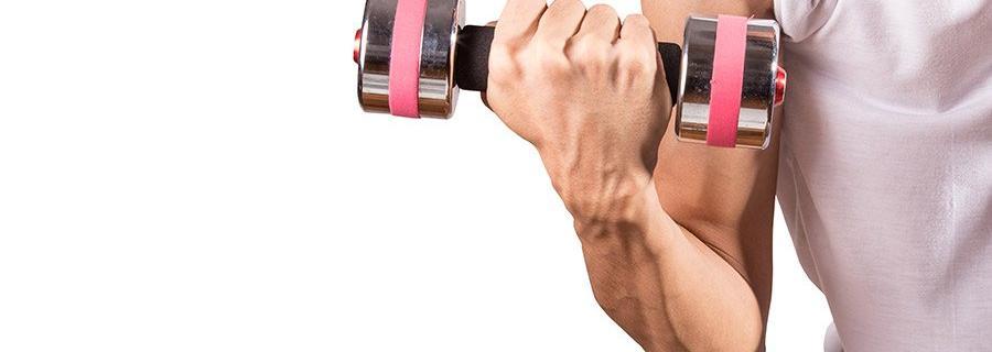 Biceps thuis trainen met of zonder gewichten