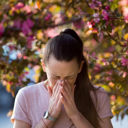 Een allergie is de meest voorkomende oorzaak van oogirritatie