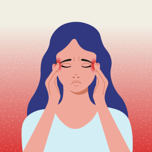 Hoofdpijn is een bijwerking van gordelroos