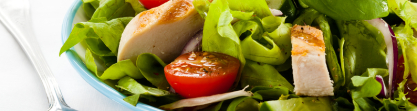 Koolhydraatarme cesar salade