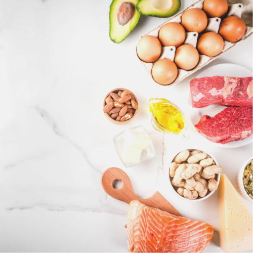 Koolhydraatarme voedingsmiddelen