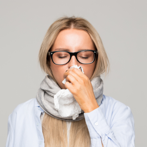 Verkoudheid kan leiden tot verstopte oren