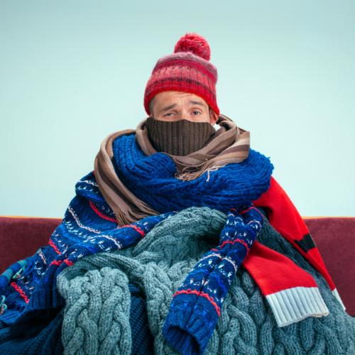 Een verminderde weerstand kan koortslip triggeren