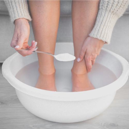 Verzorging van een ontstoken teen of vinger