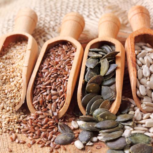 Zaden en pitten zitten vol essentiële omega-3 vetzuren
