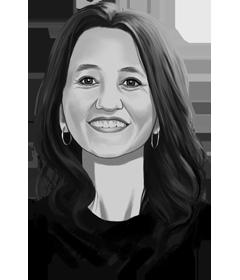 Diëtist en journalist Karine Hoenderdos
