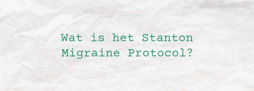 Wat is het Stanton Migraine Protocol?