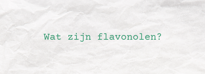 Wat zijn flavonolen?